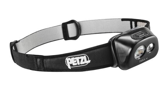 Petzl Tikka+ - Lampe frontale - noir